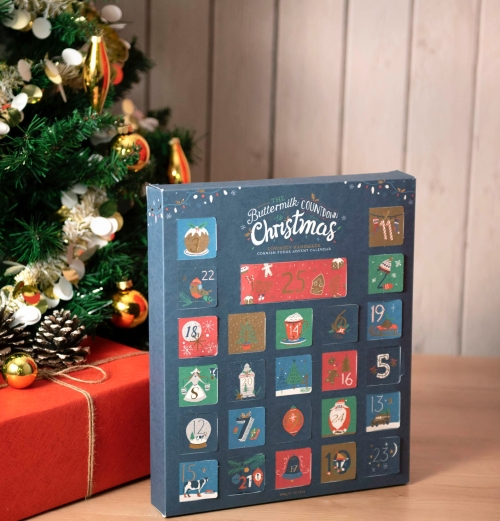 Buttermilk Fudges Advent Calendar