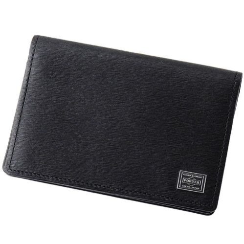 PORTER CURRENT - CARD CASE BLACK