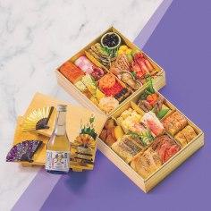 """Osechi Jewel Box """"Irodori"""" 2-layer"""