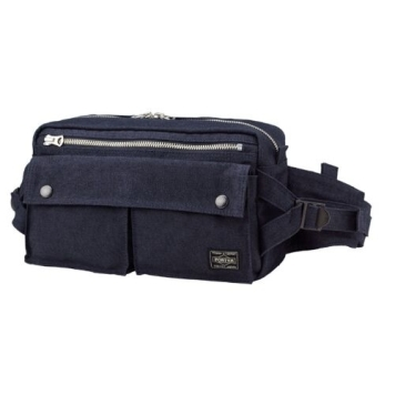 PORTER SMOKY - WAIST BAG BLUE