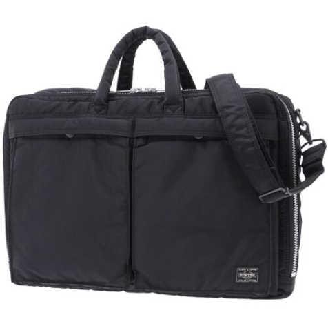 PORTER TANKER - 2WAY BRIEF CASE BLACK