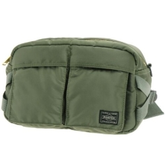 PORTER TANKER - 2WAY WAIST BAG GREEN