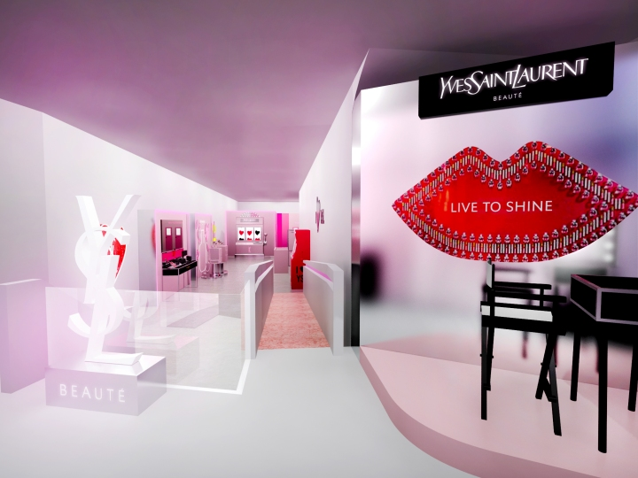 YSL I LOVE YSL POP-UP STORE EVENT RENDERING_V5
