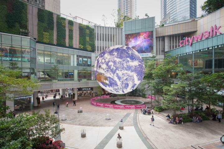Citywalk the earth mockup