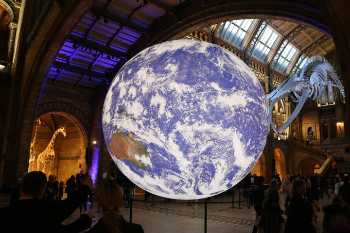 Gaia at Natural History Museum, 2018 (1)