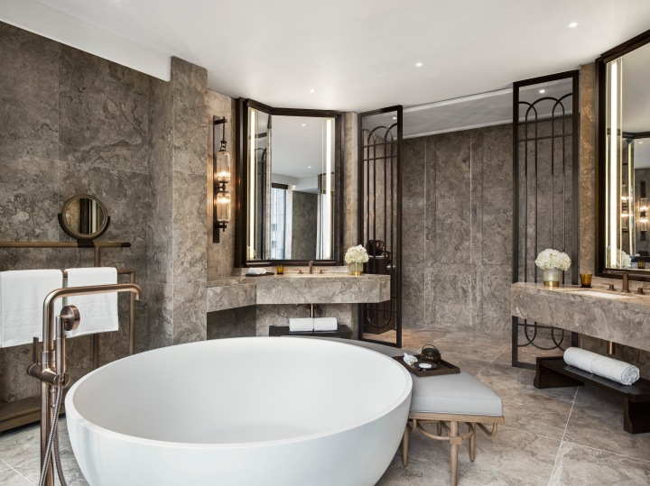 St. Regis Hong Kong, Presidential Suite, Bathroom