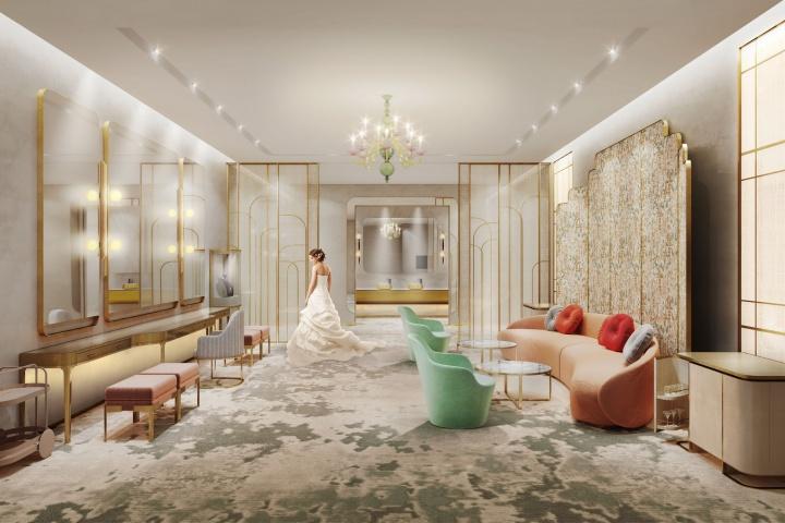 L'hotel Nina Bridal Room